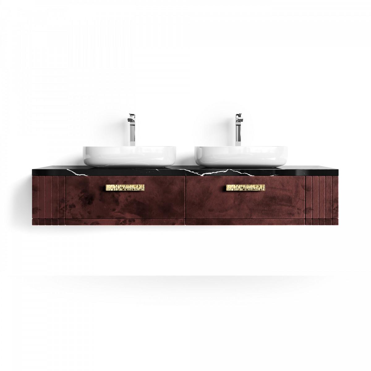 Подвесная тумба для ванной – Jasper Double