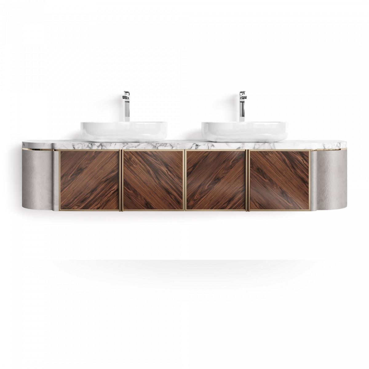 Подвесная тумба для ванной – Chalice Double